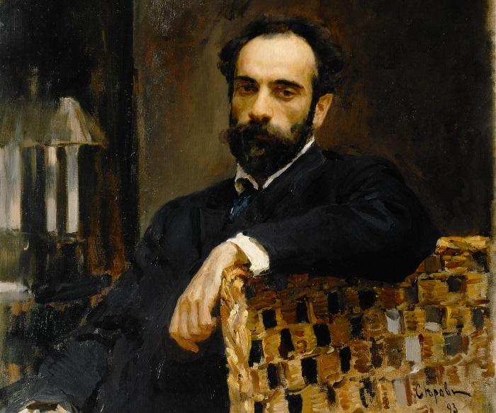 В. Серов. Портрет художника И. И. Левитана, 1893