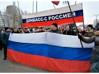 Интернациональный, евразийский, советский Донбасс выбрал Москву и Россию, а не украинский нацизм украина