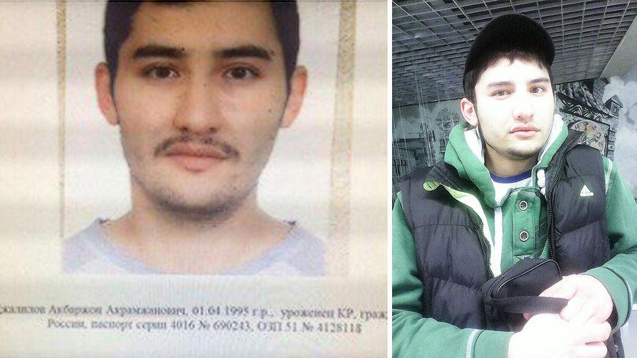 СМИ опубликовали новое фото предполагаемого смертника в метро Питера
