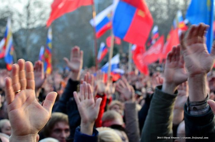 Белорусская оппозиция требует от Лукашенко признать Крым российским