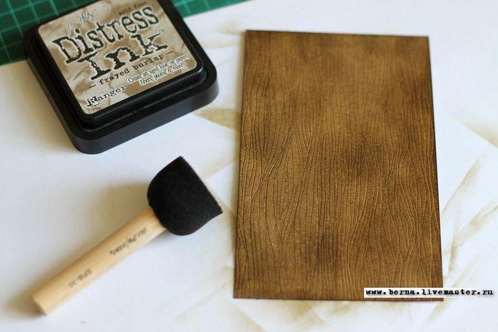 Как создать деревянный фон из картона быстро и просто: мастер-класс