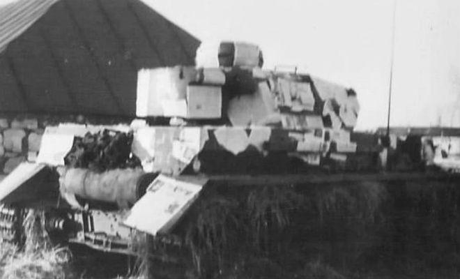 Зачем во Вторую мировую танки снаружи обклеивали газетами вторая мировая война,газета,камуфляж,Пространство,танк,уловка