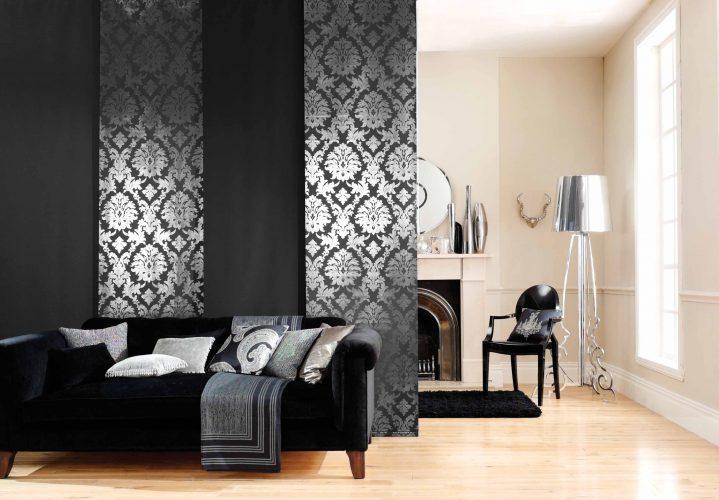 Японские шторы: стильные идеи для интерьера декор