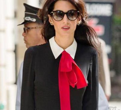 Иконы моды — безупречные образы Амаль Клуни