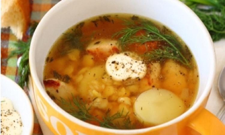 Потрясающе аппетитный гороховый суп с индейкой