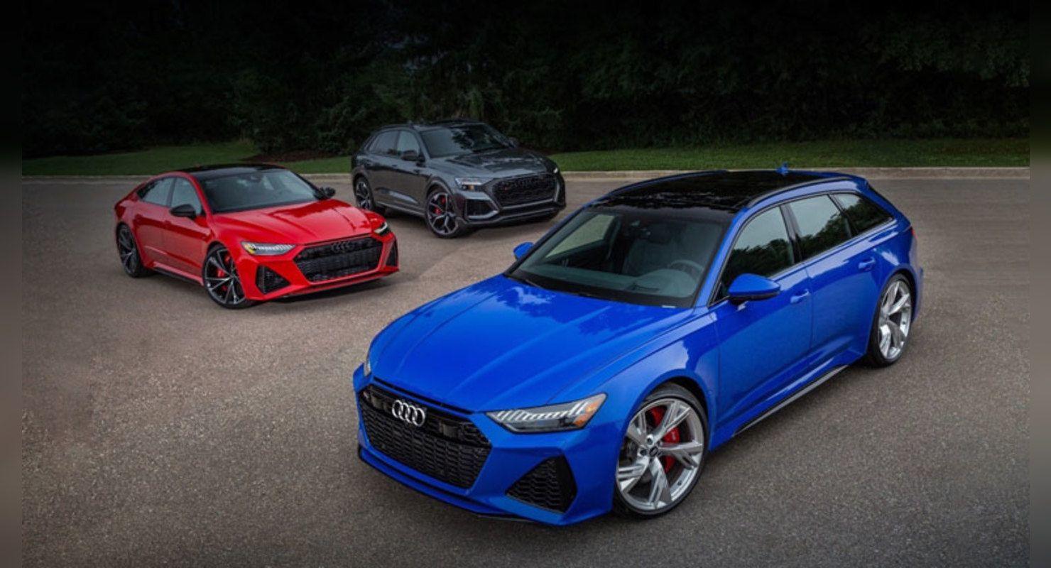 В Санкт-Петербурге пройдет закрытый показ новых версий Audi RS Автомобили