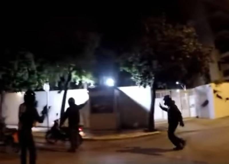 Резиденция посла США в Греции подверглась нападению анархистов