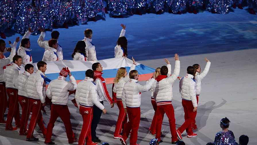 Россияне приняли нейтральный флаг