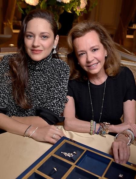 Марион Котийяр представила в Париже авторскую коллекцию украшений Мода,Новости моды