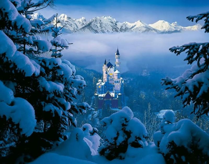 самые красивые картинки мира зима какой