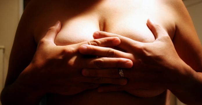 Муж оскорбил грудь своей жен…