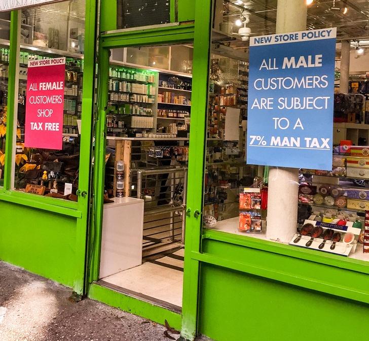 Что такое «розовый налог» и почему женщинам многое обходится дороже, чем мужчинам escapethecorset,девушки,интересное,позитив,фотографии