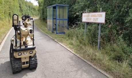 Британские военные получат необычных роботов-саперов с тактильной обратной связью