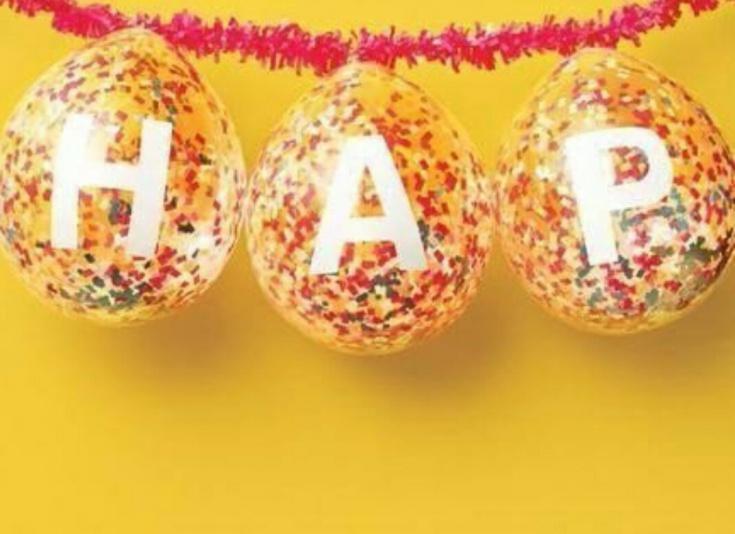 Праздничные шарики (diy)