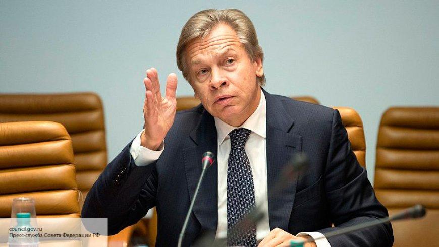 Пушков рассказал об активности сторонников сохранения России в ПАСЕ новости,события,политика