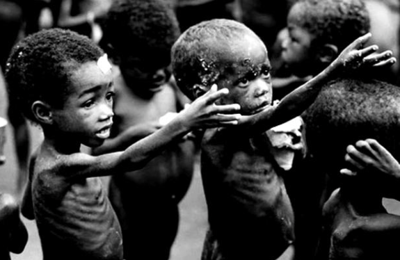 Американская программа сокращения мирового населения – война и голод.