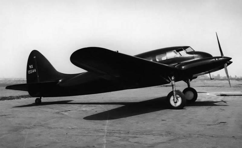Последний самолёт Локхида: Alcor C-6-1 Junior Transport ввс
