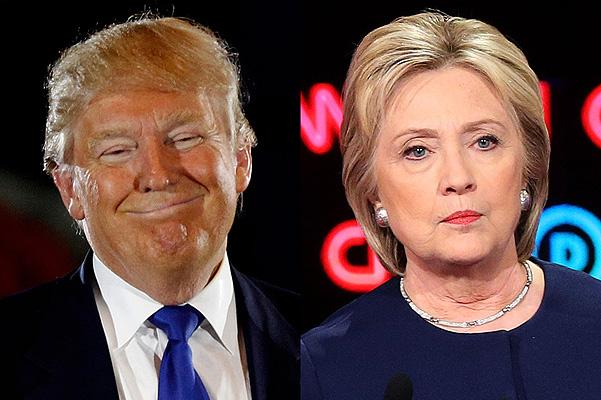 Трамп обгоняет Клинтон по по…