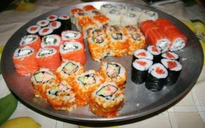 Оказывается делать суши и роллы очень просто