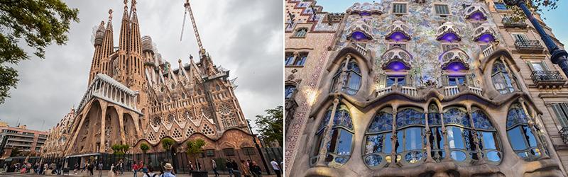 Самые интересные здания Барселоны архитектора Антонио Гауди