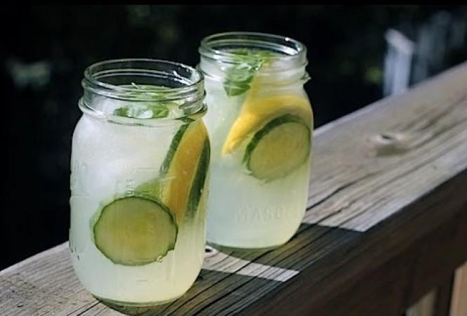 Лимонад из кабачков