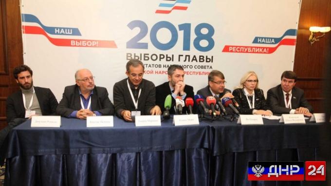 Международные наблюдатели дали свою оценку выборам в ДНР