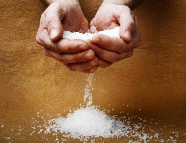 Соль для укрепления здоровья человека
