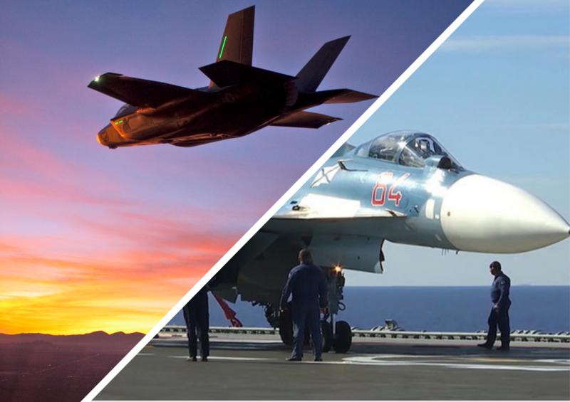 Подготовка к схватке с F-35B и F/A-18E. «Апгрейд» передового собрата  Як-141 и проблемы узкопрофильности Су-33