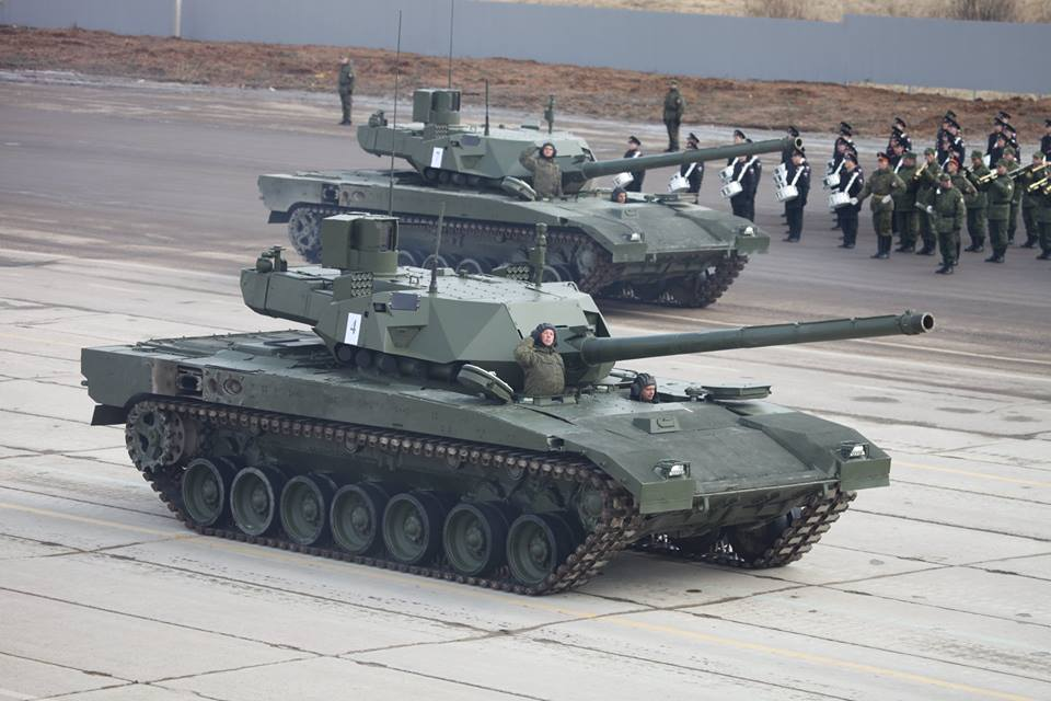 """Первые 70 серийных танков Т-14 """"Армата"""" будут поставлены к концу 2019 года"""