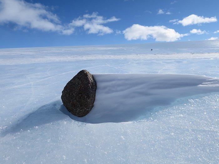 В Антарктике находят больше метеоритов, чем в любых других местах на планете Антарктика, антарктида, интересно, ледяной континент, познавательно, секреты Антарктики, удивительно, факты