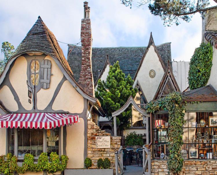 Калифорнийский Кармел – самый сказочный город мира