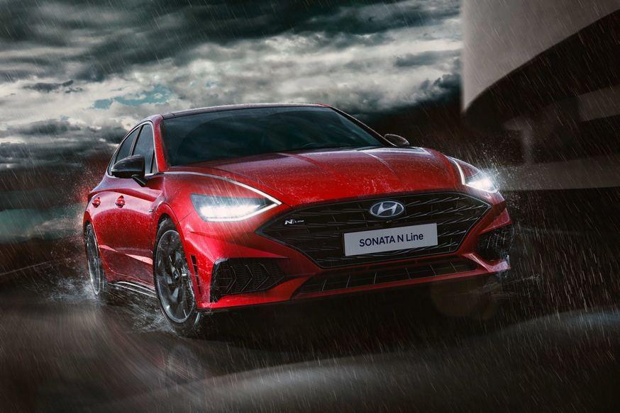 «Подогретая» Hyundai Sonata: пока раскрыт только дизайн, но мотор, скорее всего, от Kia K5 GT авто,авто и мото,автосалон,водителю на заметку,машины,новости автомира,Россия,тюнинг