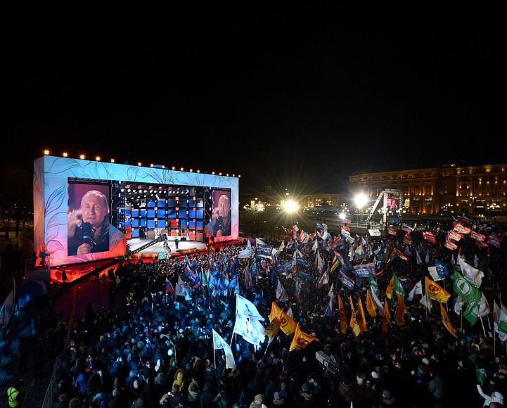 Иностранцы восхищены выступлением Путина после победы