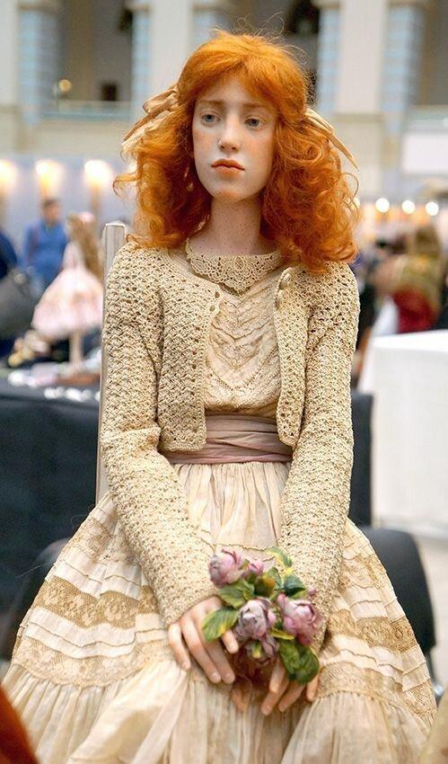 """И все такие говорят: """"Ну ничего себе у него куколка какая!"""" Натуральное, восхитительно, захватывающе, искусство, куклы, реалистичные, страшно, талант"""