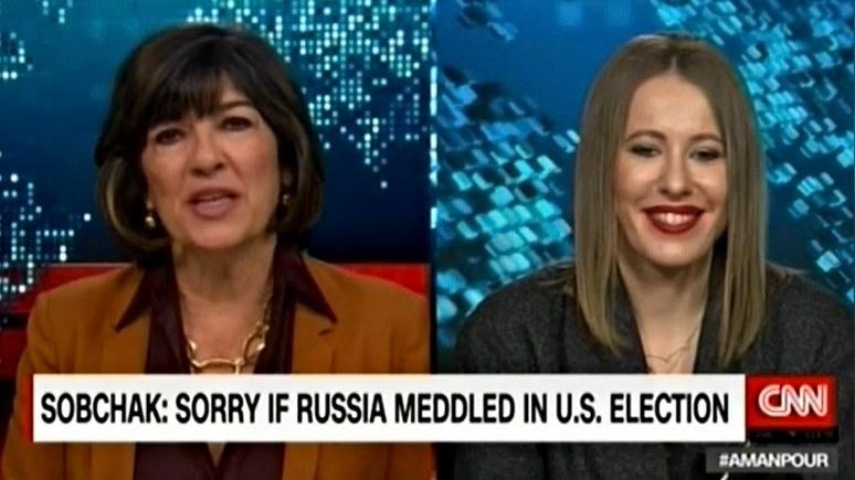 Собчак: «эффект Трампа» может сработать, потому что моя популярность в России огромна