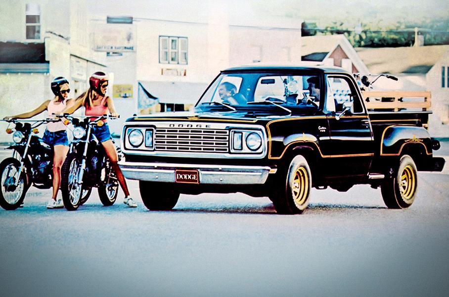 Запрещен в пяти штатах: Dodge, с которого начались быстрые пикапы авто,автомобиль,автосалон