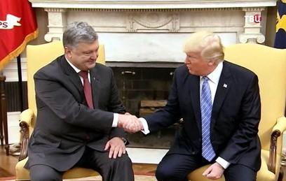 В Белом доме прошла встреча Дональда Трампа и Петра Порошенко