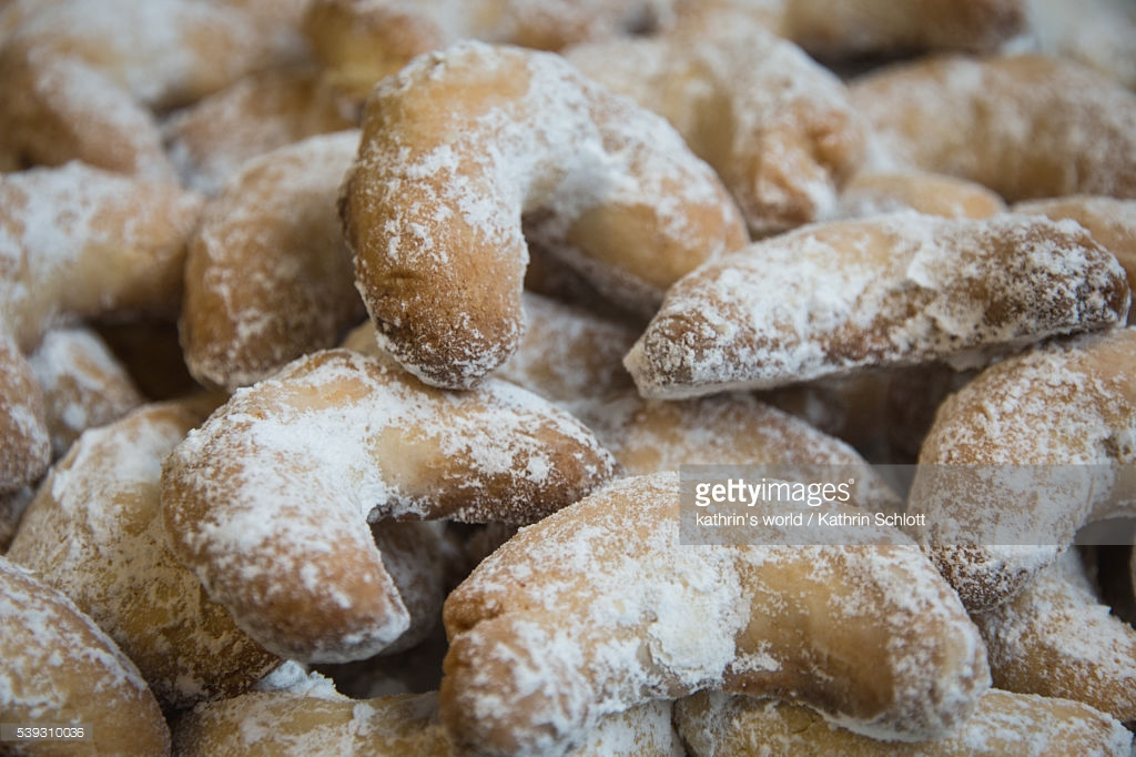 Vanillekipferl : Stock Photo