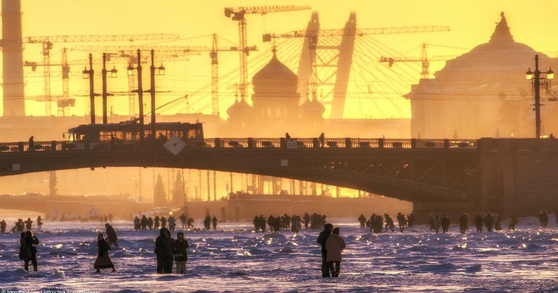 Не так страшен зимний Санкт-Петербург, как его малюют