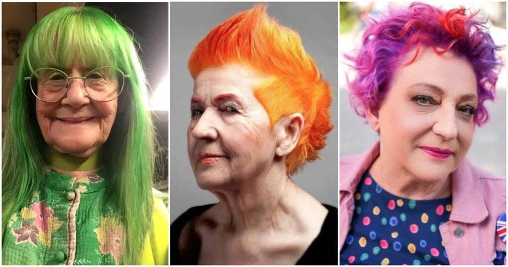 20 милых бабушек, которые изменили свои седые волосы на яркие образы. Возраст это просто число!