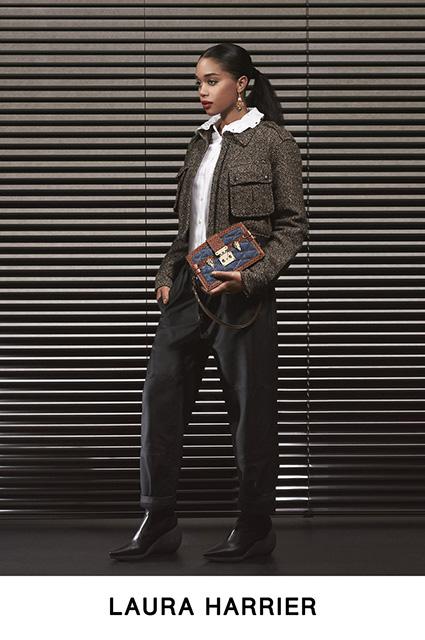 Леа Сейду, Алисия Викандер, Мишель Уильямс, Софи Тернер и другие в лукбуке Louis Vuitton лукбук