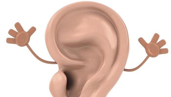 Прикольные рисунки уха