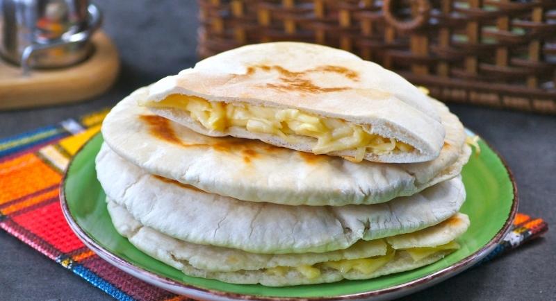 Пита с сыром и яйцами: если хочется чего-то типа хачапури