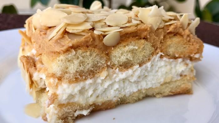 Не путать с тирамису — вкуснючий торт без выпечки. Можно угостить даже 30 человек!