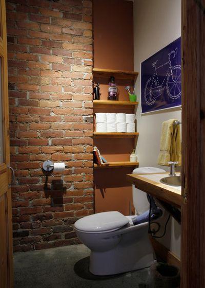 Лофт Ванная комната by Esther Hershcovich