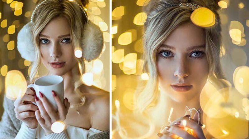 Секреты «фотокухни»: как сделать дома красивые портреты в новогоднем стиле