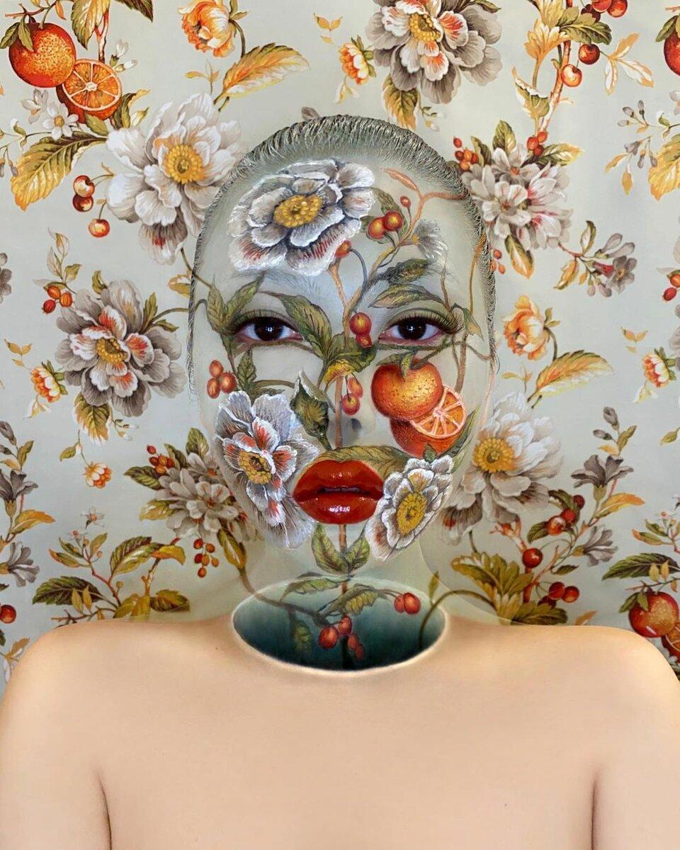 3 мастера креативного макияжа: никакого фотомонтажа, все реально нарисовано на лицах людей