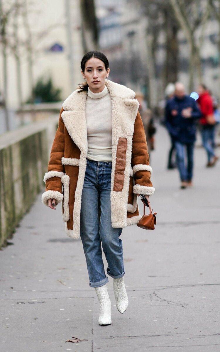 Что надеть зимой, чтобы выглядеть современно. Образы для женщин 40-50 лет