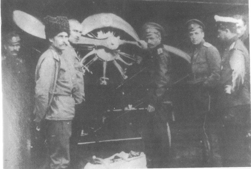 Соколы Российской империи в бою