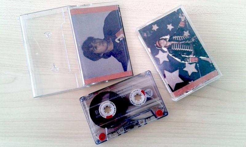 """Советские вкладыши для аудиокассет из журнала """"Работница"""""""